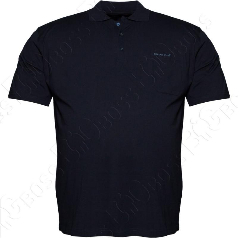 Поло тёмно синего цвета Borcan Club 0