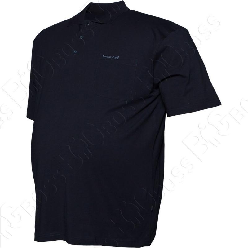 Поло тёмно синего цвета Borcan Club 1