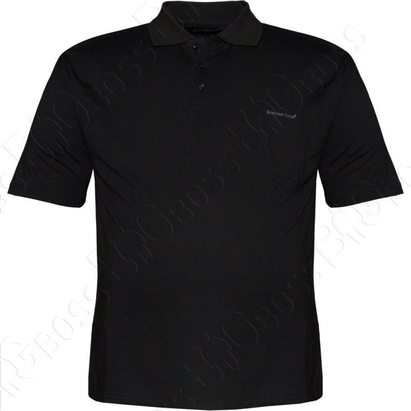 Поло чёрного цвета Borcan Club 0