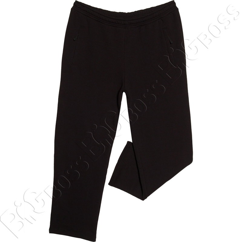 Тёплые спортивные штаны чёрного цвета Big Team 0