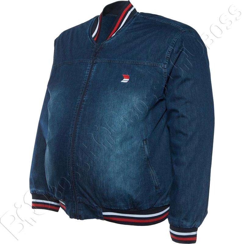 Джинсовая куртка большого размера Dekons 1