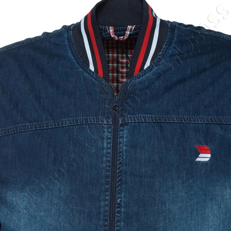 Джинсовая куртка большого размера Dekons 2