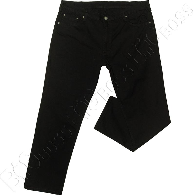 Чёрные осенние джинсы IFC 0