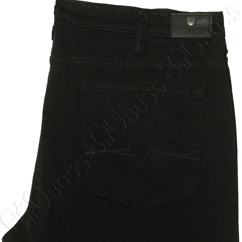 Чёрные осенние джинсы IFC 3