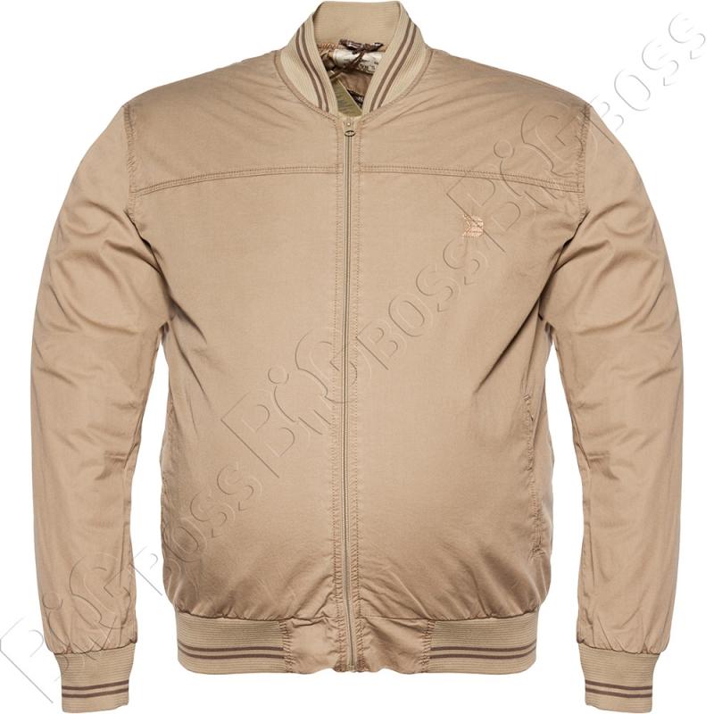 Хлопковая куртка кофейного цвета Dekons 0