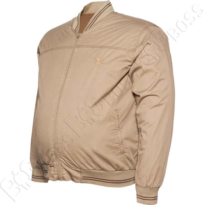 Хлопковая куртка кофейного цвета Dekons 2