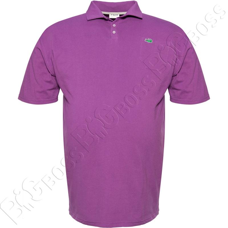 Поло лакоста фиолетового цвета Big Team 0