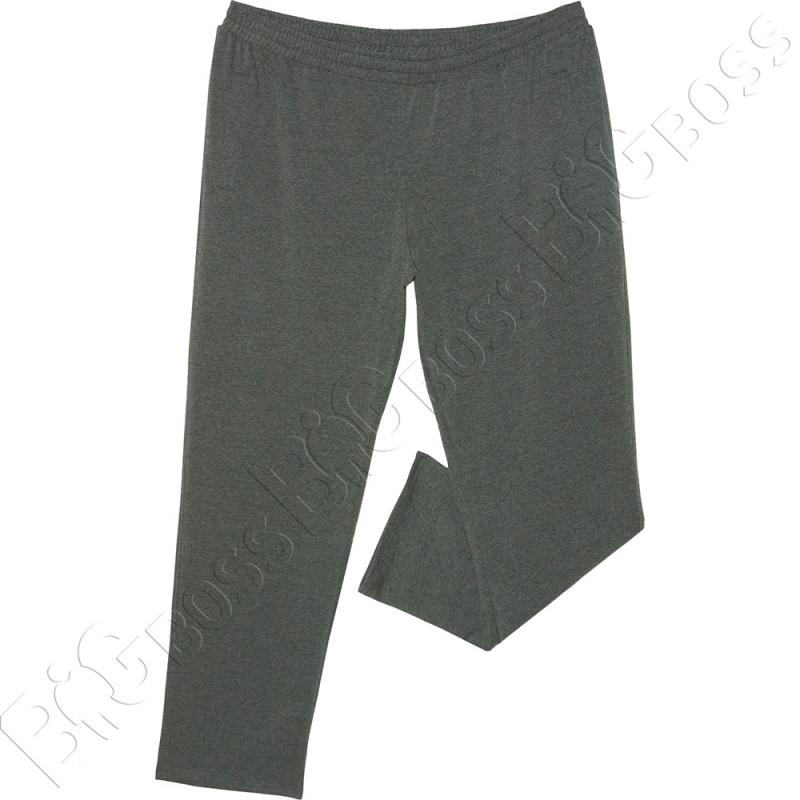 Спортивные штаны цвета антрацит Big Team 0