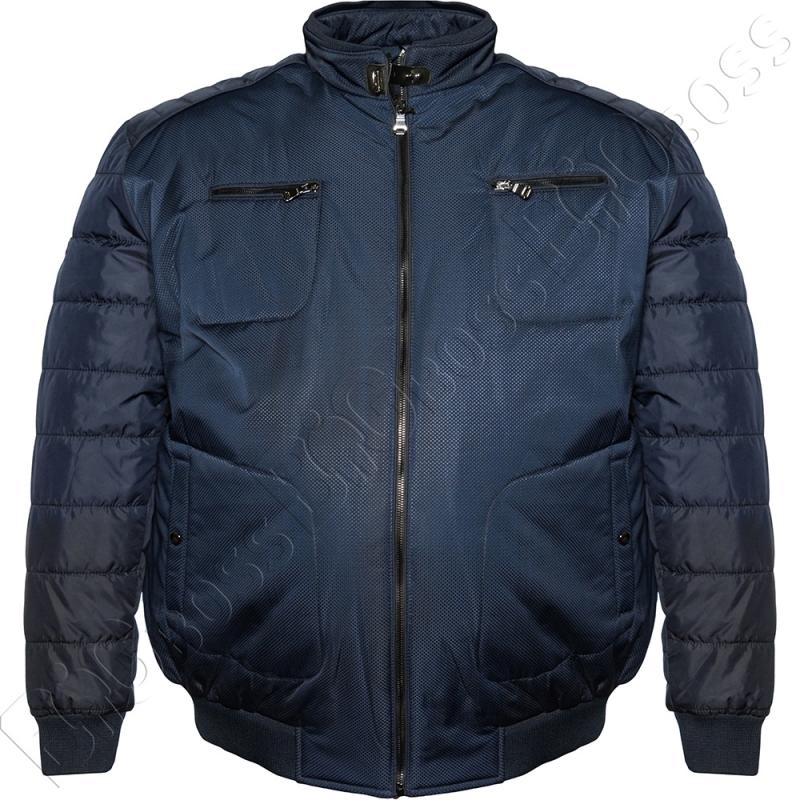 Куртка зимняя синего цвета IFC 0