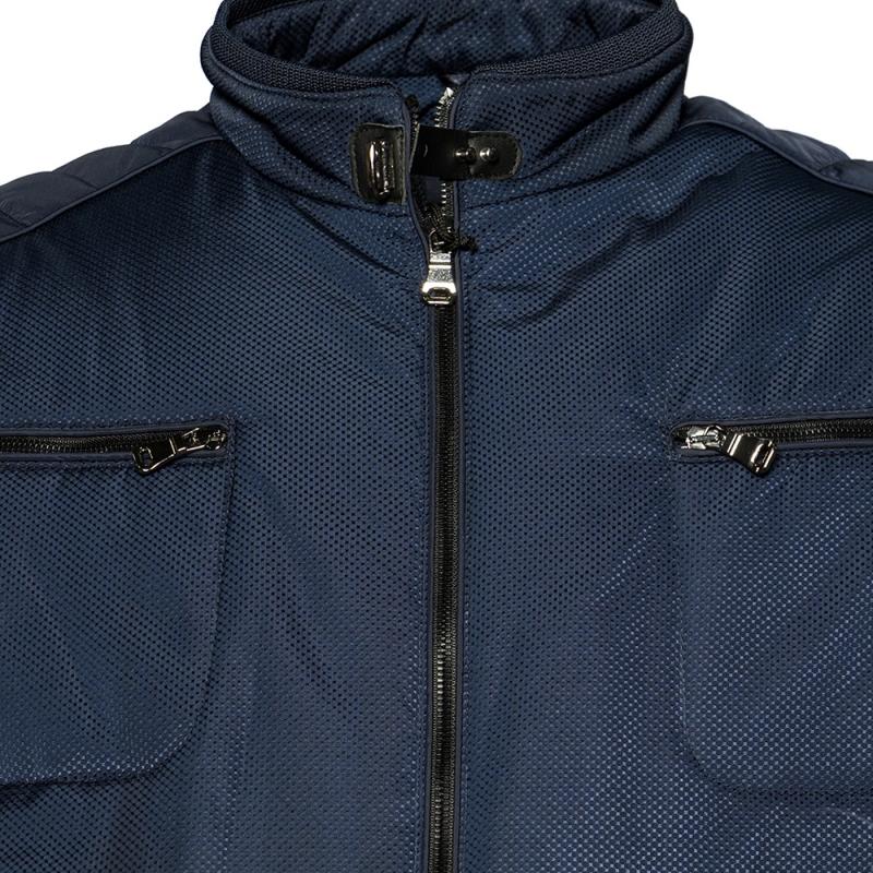 Куртка зимняя синего цвета IFC 2