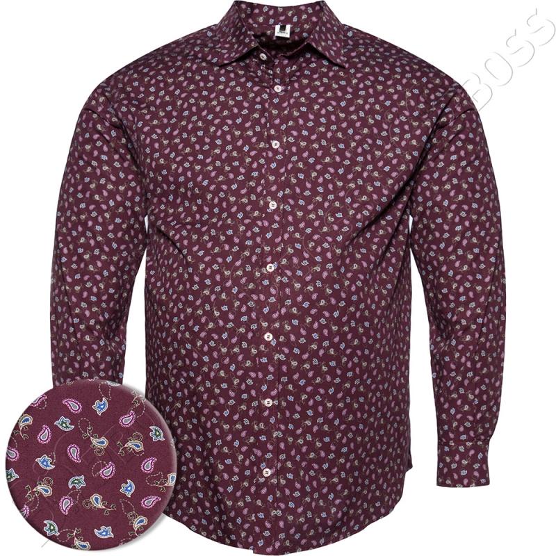 Рубашка в стильный принт Big Team 0