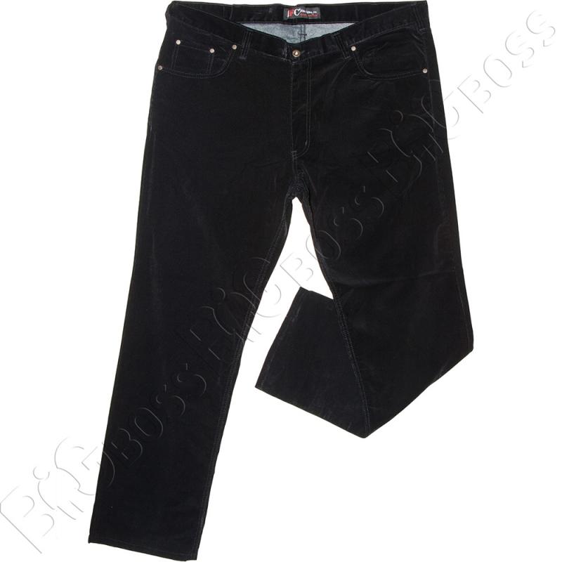 Вельветовые штаны чёрного цвета IFC 0