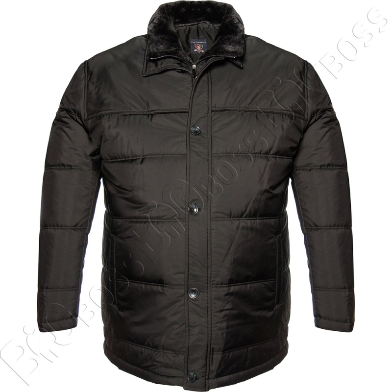 Зимняя куртка чёрного цвета IFC 0