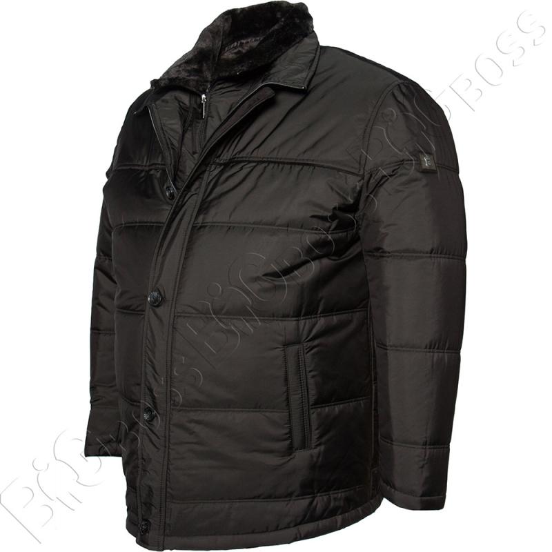 Зимняя куртка чёрного цвета IFC 3