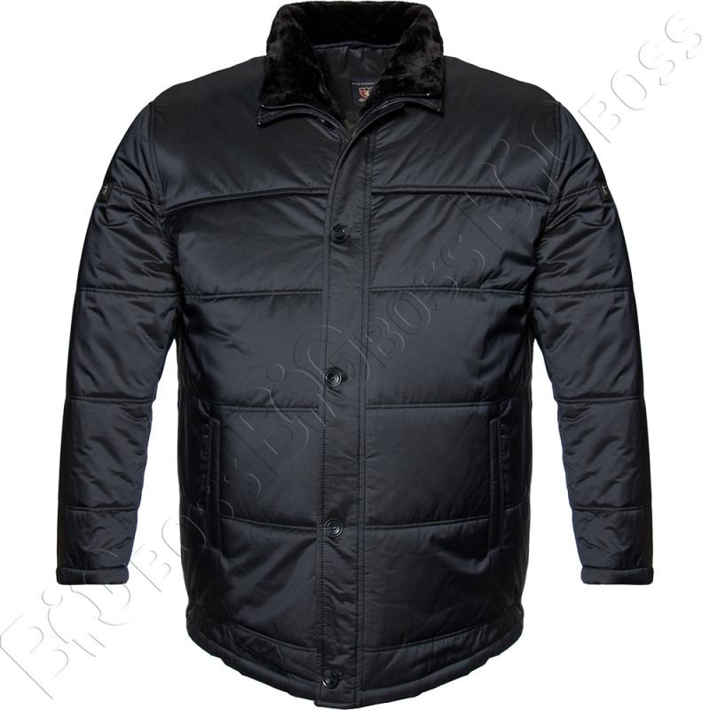 Зимняя куртка тёмно синего цвета IFC 0