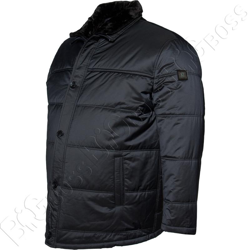 Зимняя куртка тёмно синего цвета IFC 3