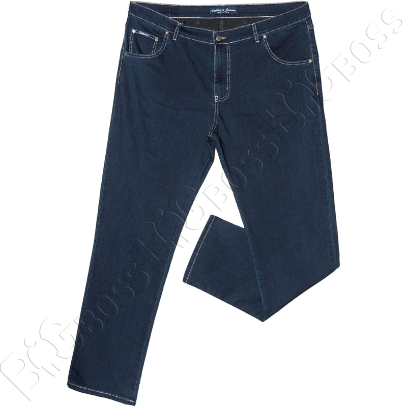 Летние джинсы тёмно синего цвета Dekons 0