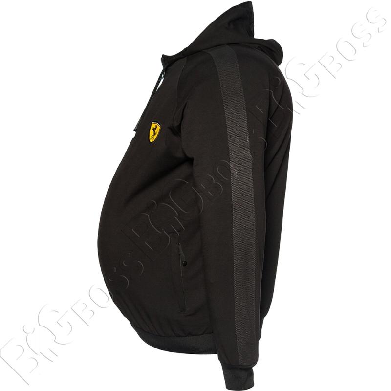 Спортивный костюм чёрного цвета Big Team 4
