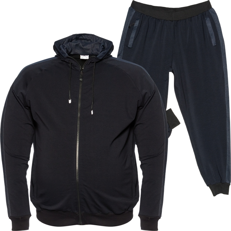Спортивный костюм тёмно синего цвета Big Team 0