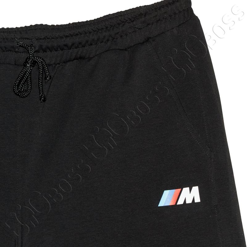 Трикотажные шорты чёрного цвета Big Team 1