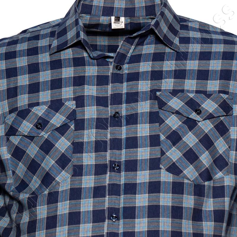 Рубашка в клетку Big Team 1