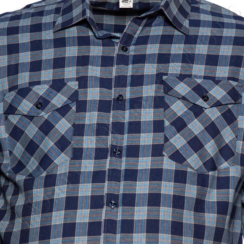 Рубашка в клетку Big Team 2