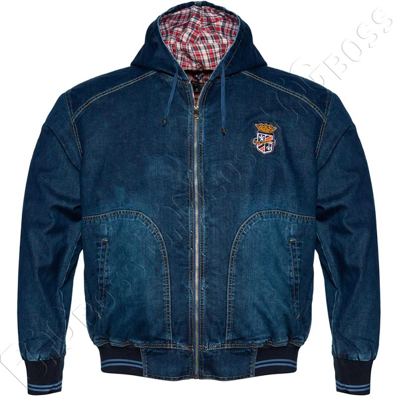 Джинсовая куртка с капюшоном Dekons 0