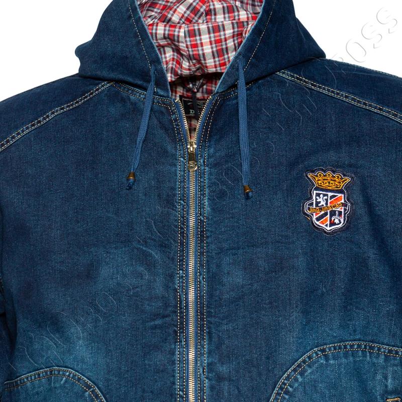 Джинсовая куртка с капюшоном Dekons 1