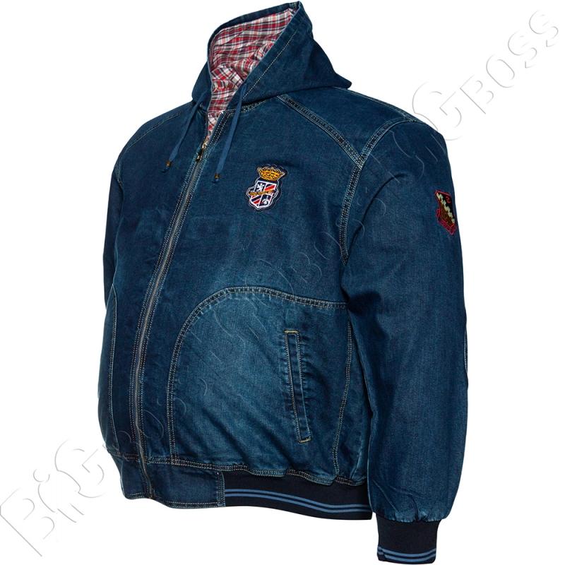 Джинсовая куртка с капюшоном Dekons 2