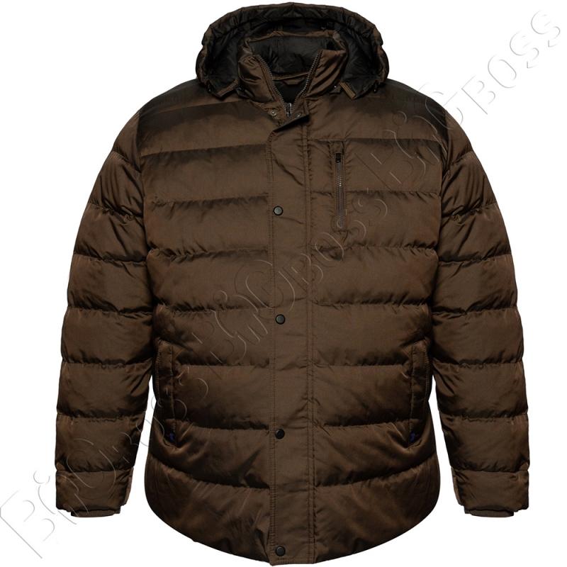 Зимняя куртка прямого кроя цвета хаки Dekons 0