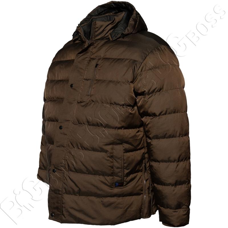 Зимняя куртка прямого кроя цвета хаки Dekons 1