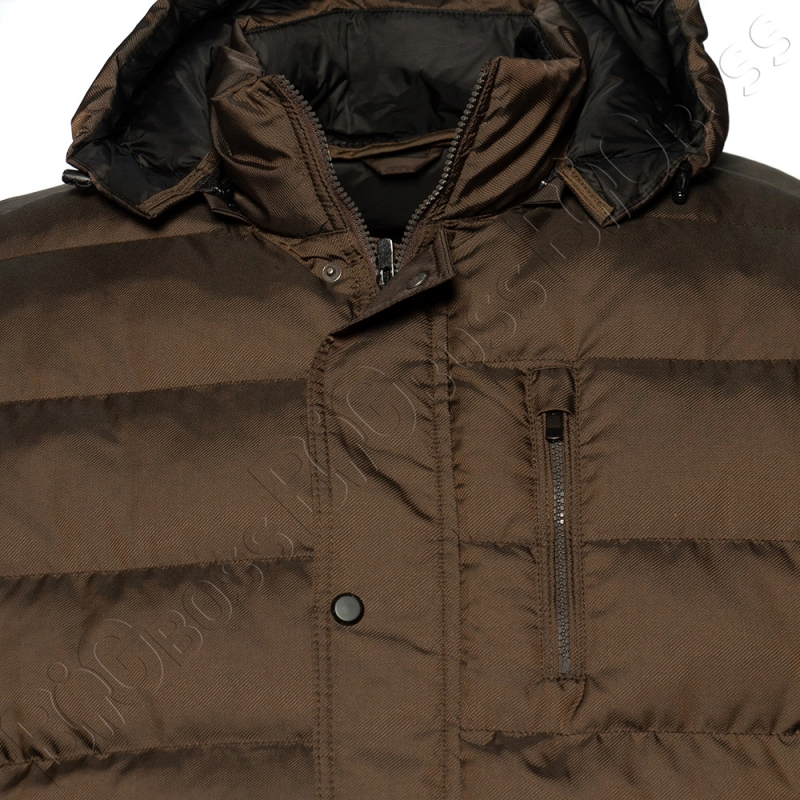 Зимняя куртка прямого кроя цвета хаки Dekons 2