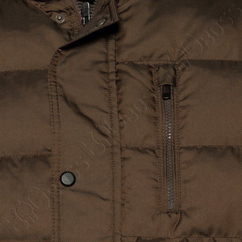 Зимняя куртка прямого кроя цвета хаки Dekons 3