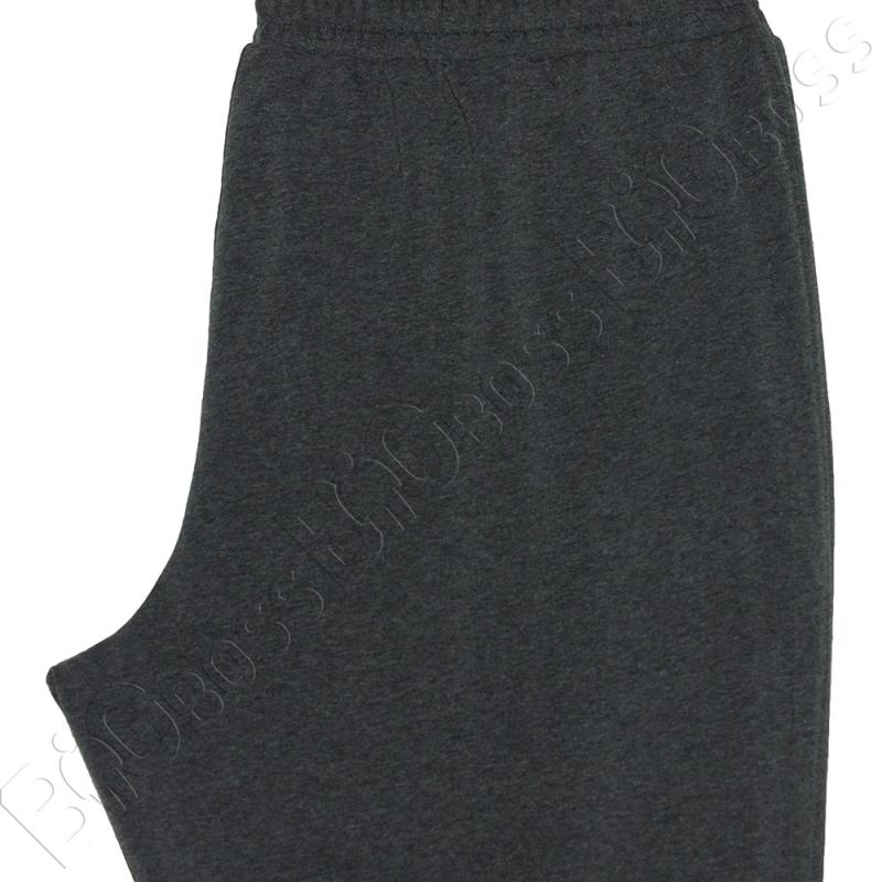 Трикотажные спортивные штаны серого цвета Big Team 4