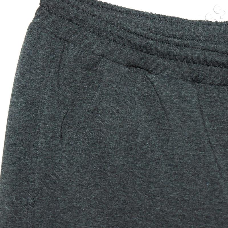 Трикотажные шорты цвета антрацит Big Team 2