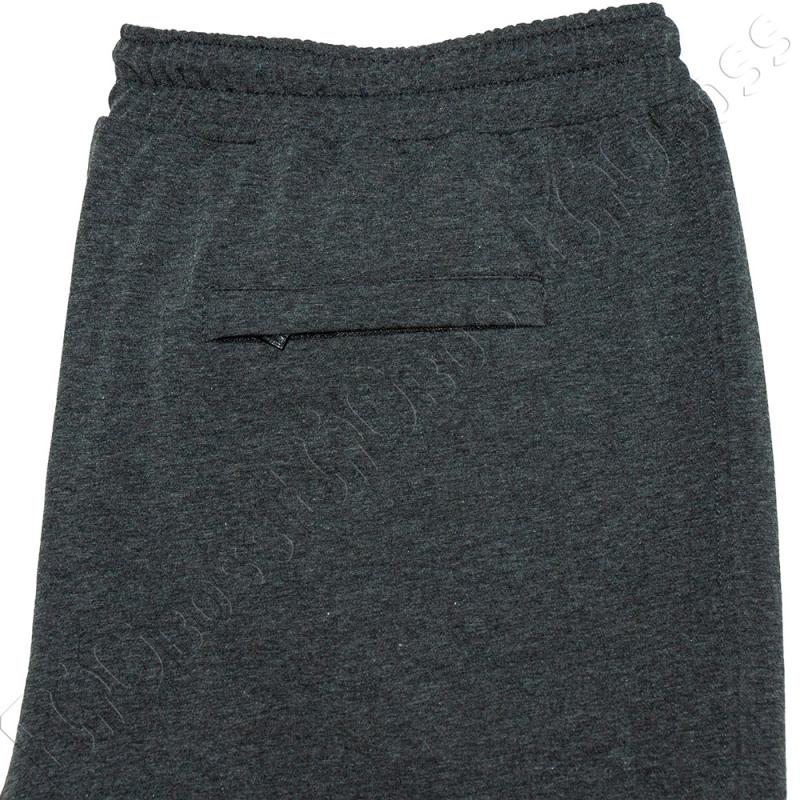 Трикотажные шорты цвета антрацит Big Team 4