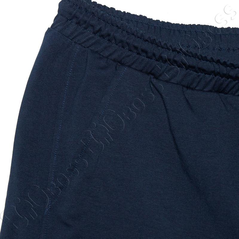 Трикотажные шорты тёмно синего цвета Big Team 2