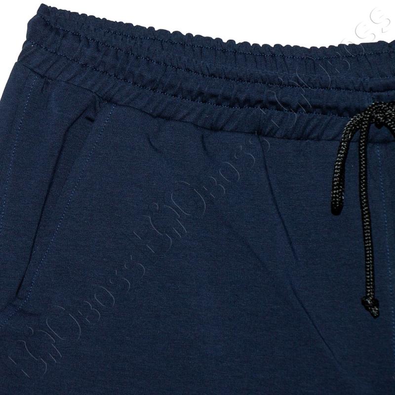 Трикотажные шорты тёмно синего цвета Big Team 3