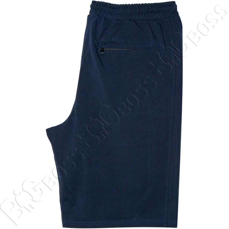 Трикотажные шорты тёмно синего цвета Big Team 5