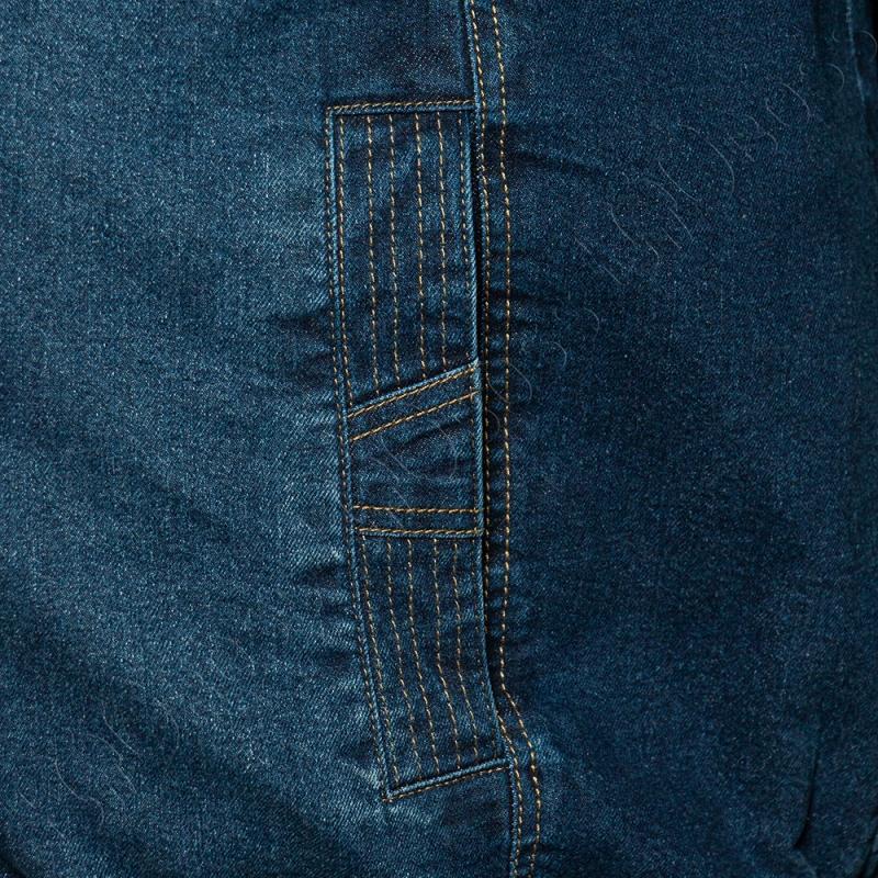 Джинсовая куртка на тонкой подкладке Olser 3
