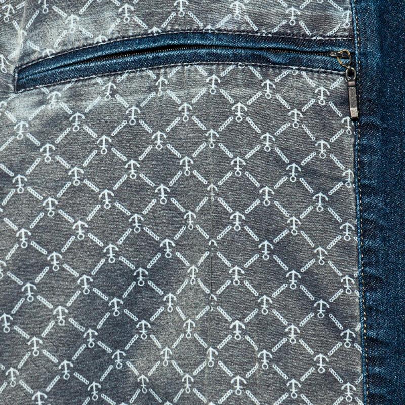 Джинсовая куртка на тонкой подкладке Olser 4