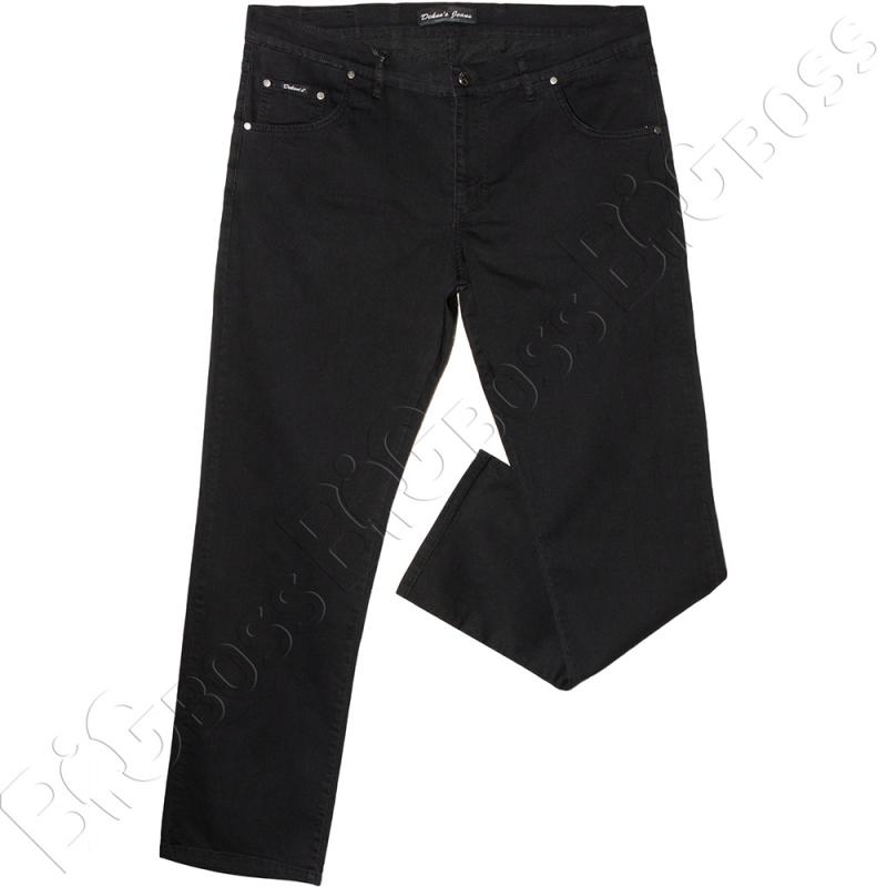 Летние тонкие джинсы чёрного цвета Dekons 0