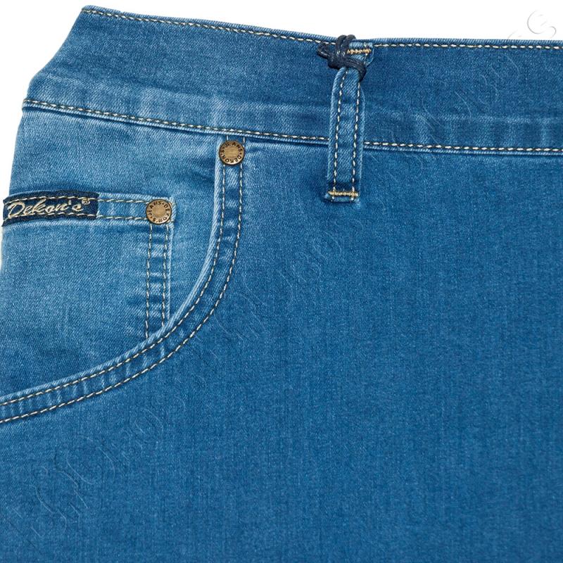 Летние джинсы (полурезинка) Dekons 2