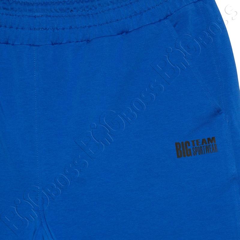 Трикотажные шорты цвета электрик Big Team 1