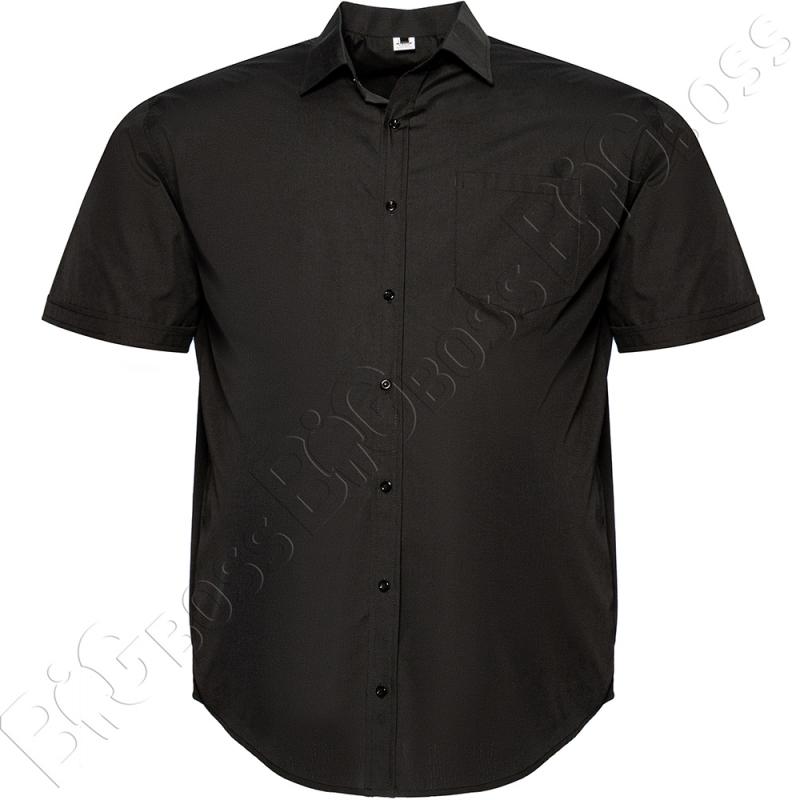 Рубашка короткий рукав чёрного цвета Big Team 0