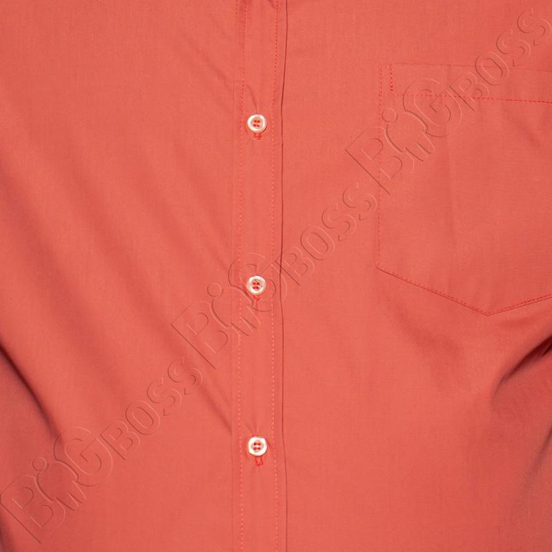 Рубашка короткий рукав цвета терракот Big Team 1