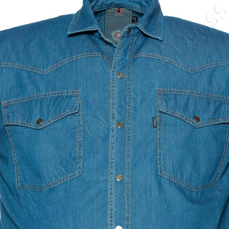 Джинсовая рубашка (тонкая) Dekons 1