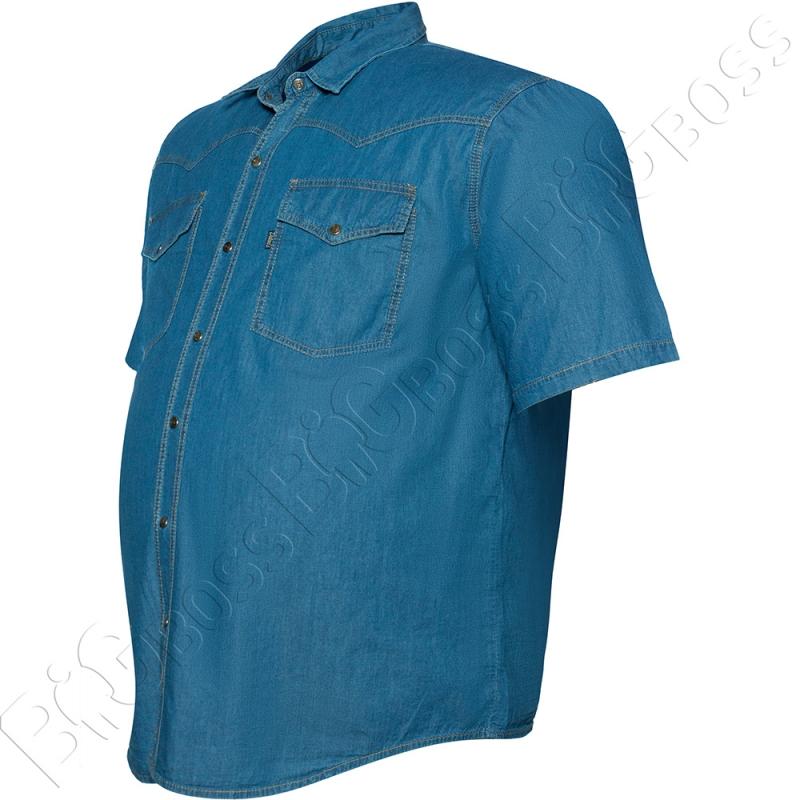 Джинсовая рубашка (тонкая) Dekons 3