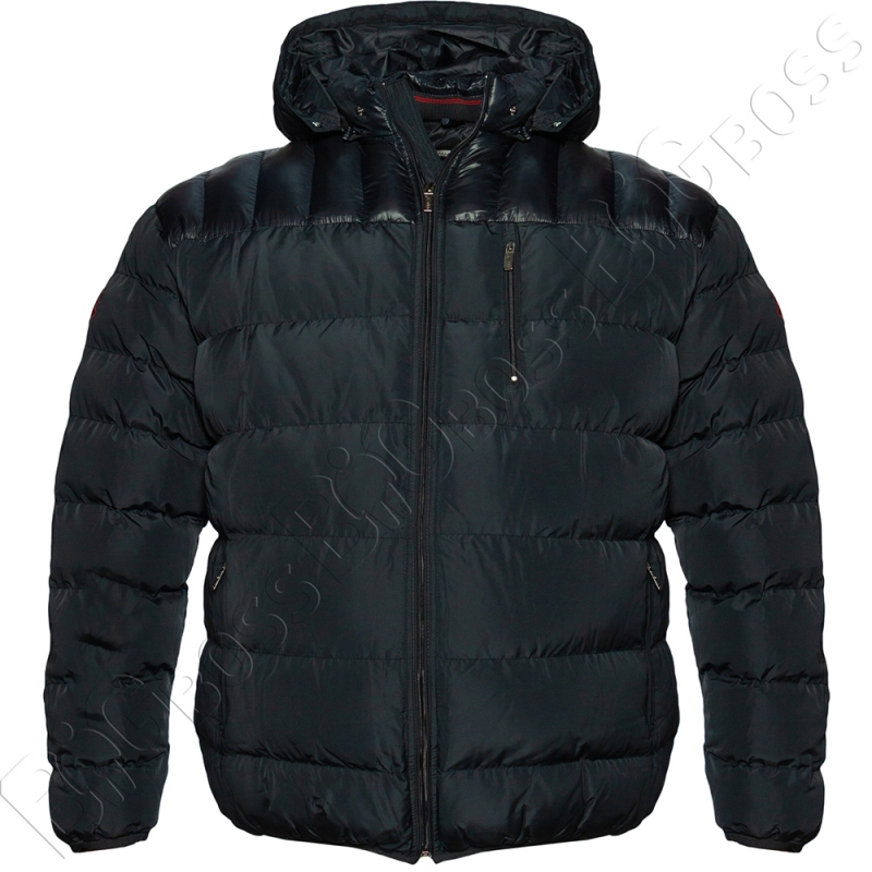 Зимняя куртка тёмно синего цвета Olser 0