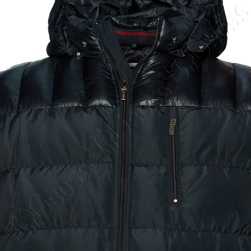 Зимняя куртка тёмно синего цвета Olser 1